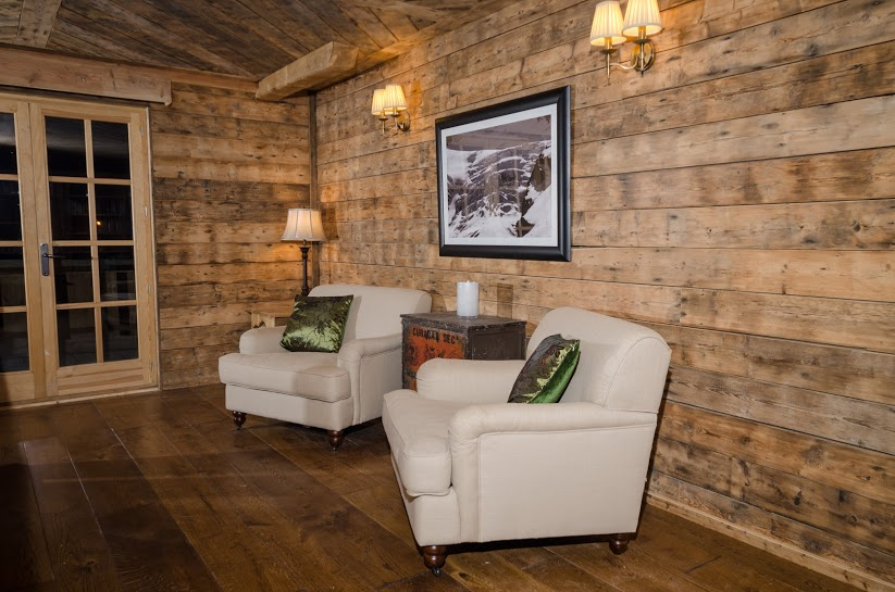 In a  mountain lodge in France  we had a commission to provide underfloor heating beneath our oak floors, to make it a cosy extra luxury for visitors.