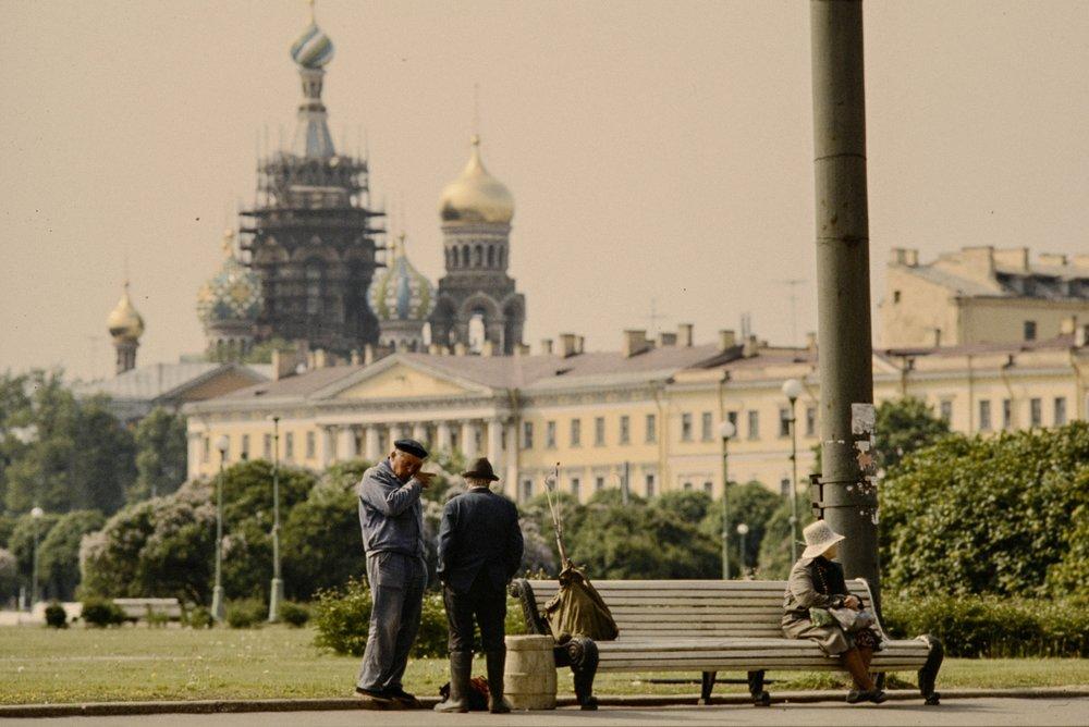 When it still was Leningrad