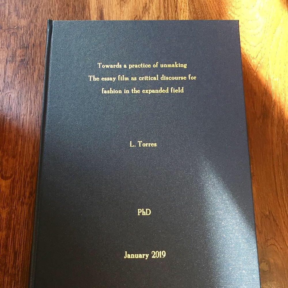 PhD thesis submitted in January 2019