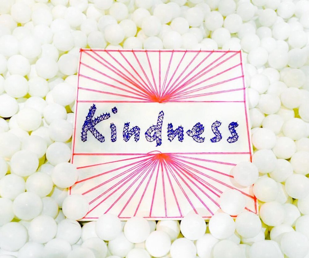 Kindness - Happiness arises when we are kind to each other and kind to ourselves. We do our best to practice this and share these ideas in playshops and events.