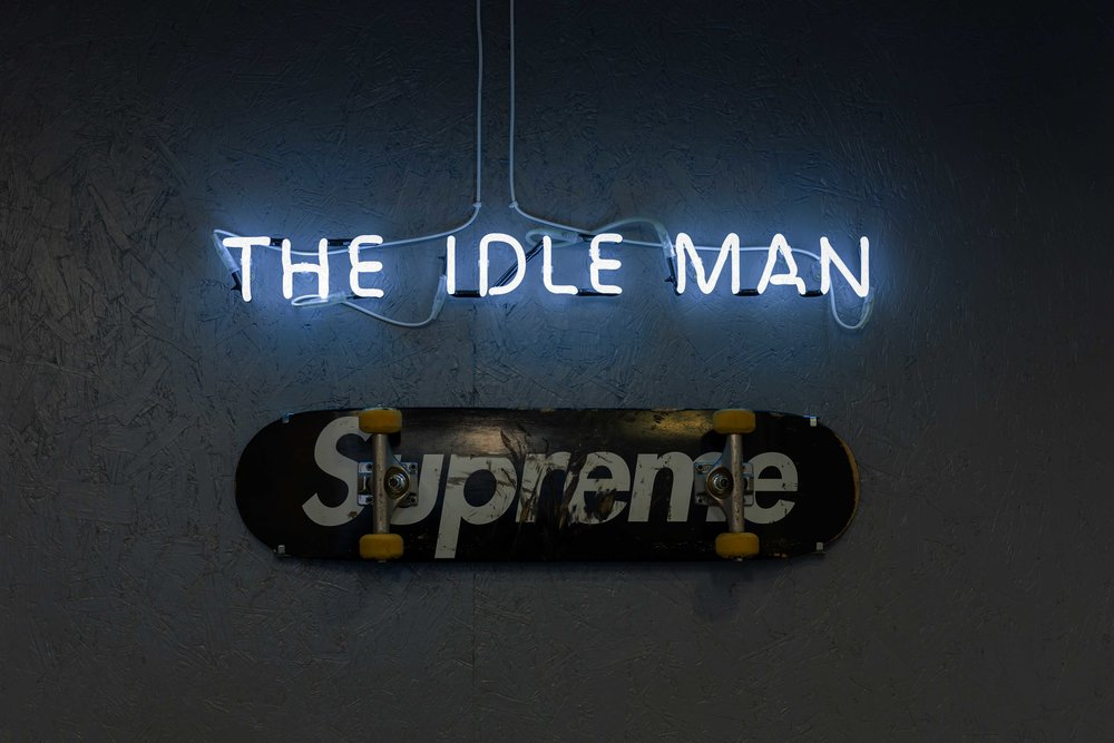 Supreme The Idle Man Ross Wilson