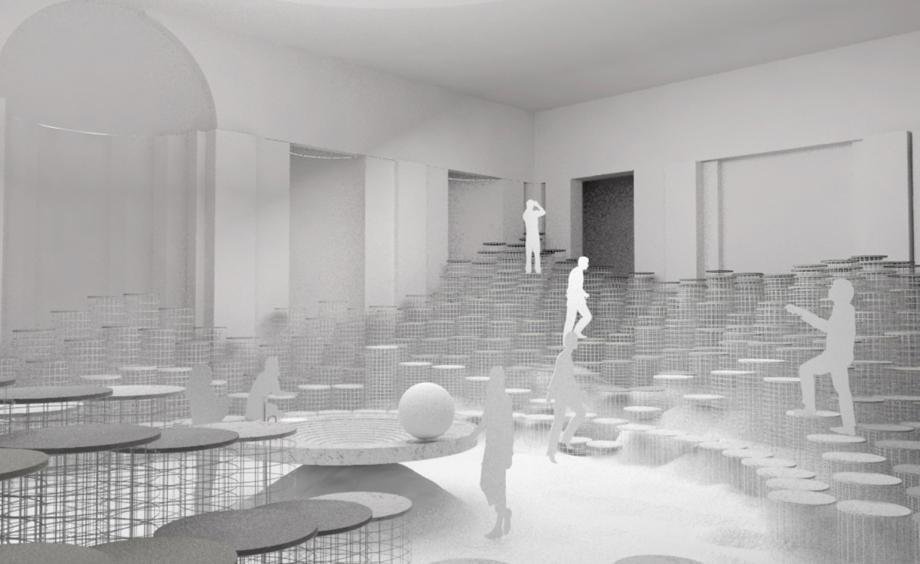 snarkitecture's 'altered states' for caesarstone milan design week