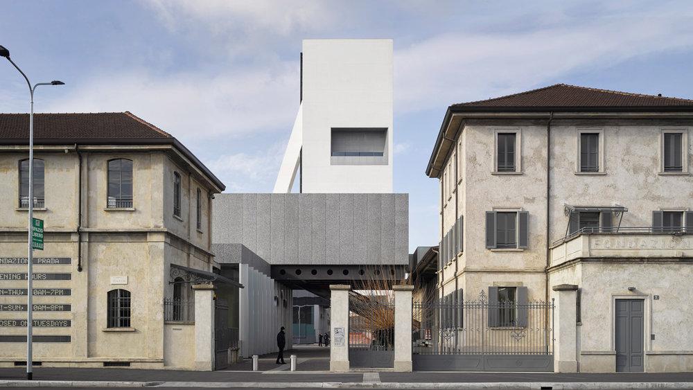 fondazione prada: OMA opens the torre Milan Design Week