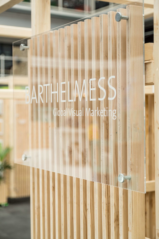 Barthelmess london exhibition andthen studio