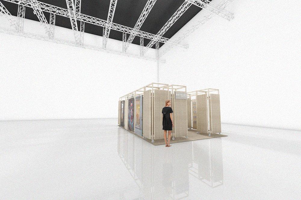 london exhibition andthen studio