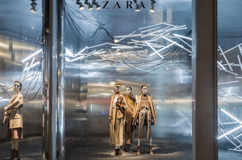 #026    Zara London Fashion Week Window