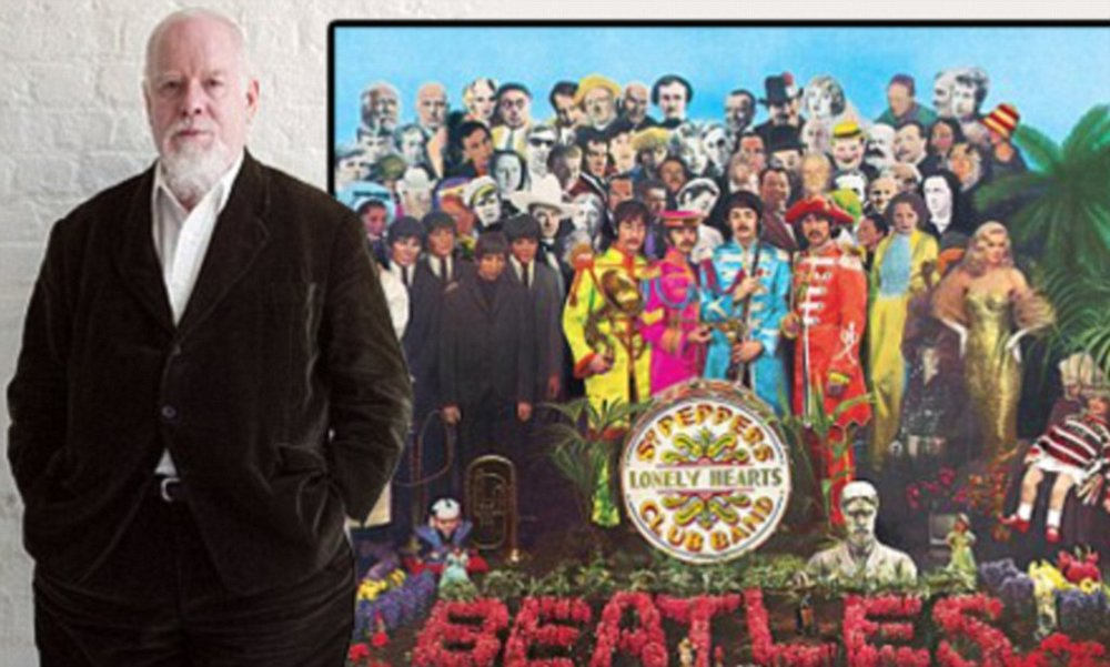 Sgt. Pepper's Lonely Hearts Club album cover co-designer -Sir Peter Blake