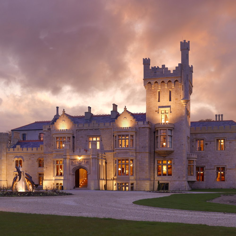 Lough Eske Castle  A five-star castle hotel located on a secluded lakeside estate
