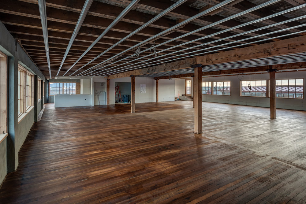 The Bellingham Yoga Collective has taken the third floor of the Granary Building.