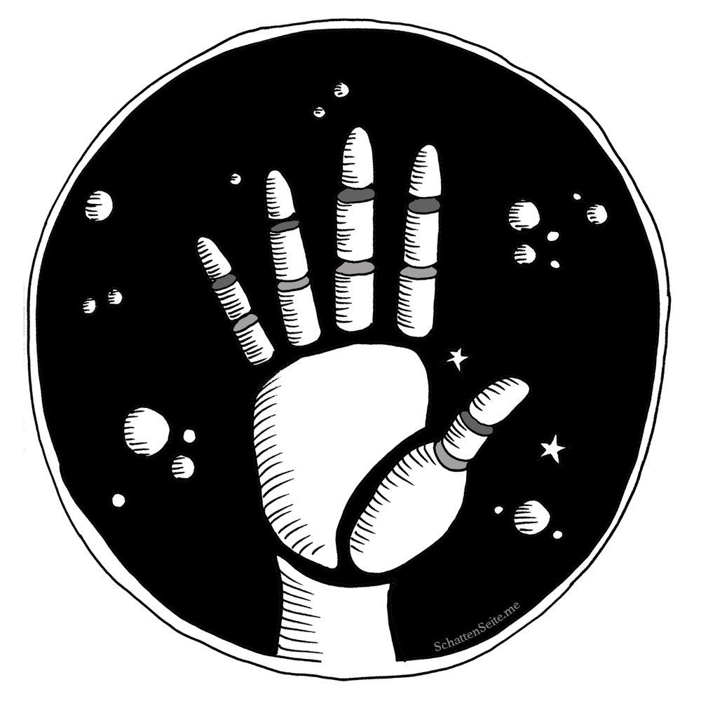Die Hand ist das schönste, aller Körperteile - Ich liebe Hände fast so sehr wie Bäume. Hände faszinieren mich, seit ich denken kann. Ich liebe schöne Hände, und vor allem gezeichnete Hände. Und ja, ich sehe den Menschen zuerst (ins Gesicht und dann) auf die Hände.