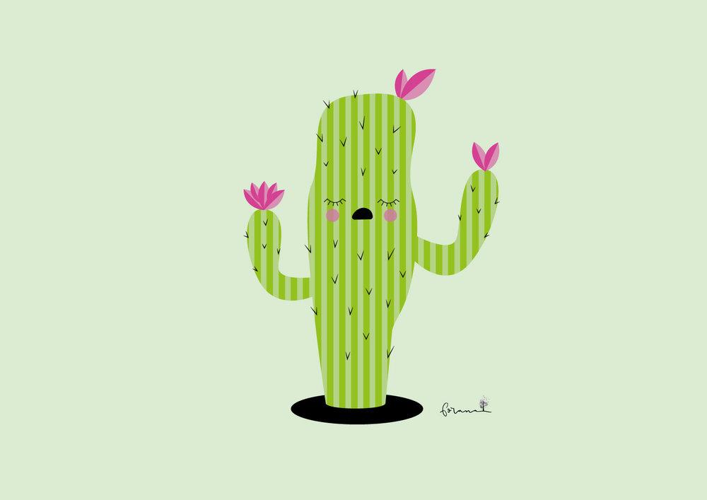Mein - kleiner enttäuschter Kaktus