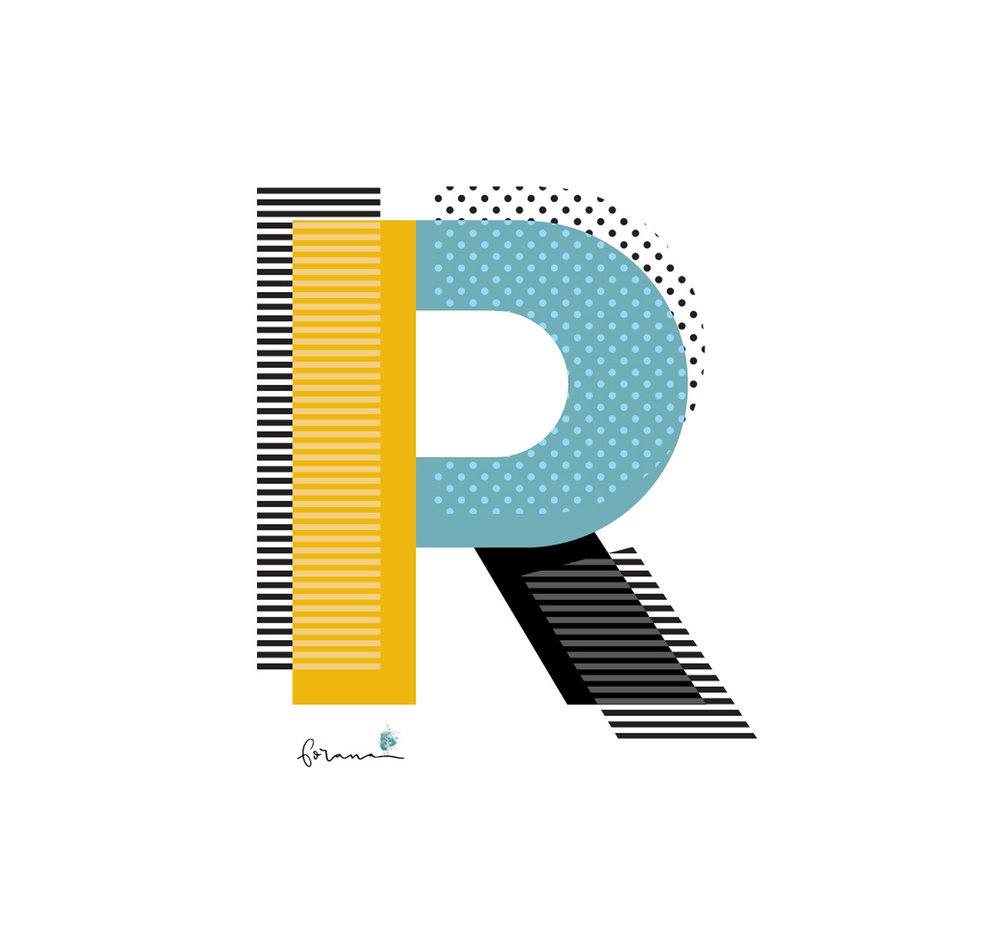 R -ROCKIGE RUHEPHASEN - ... wie wenn man sich zum einschlafen die Ramones anhört---TYPOGRAFIE