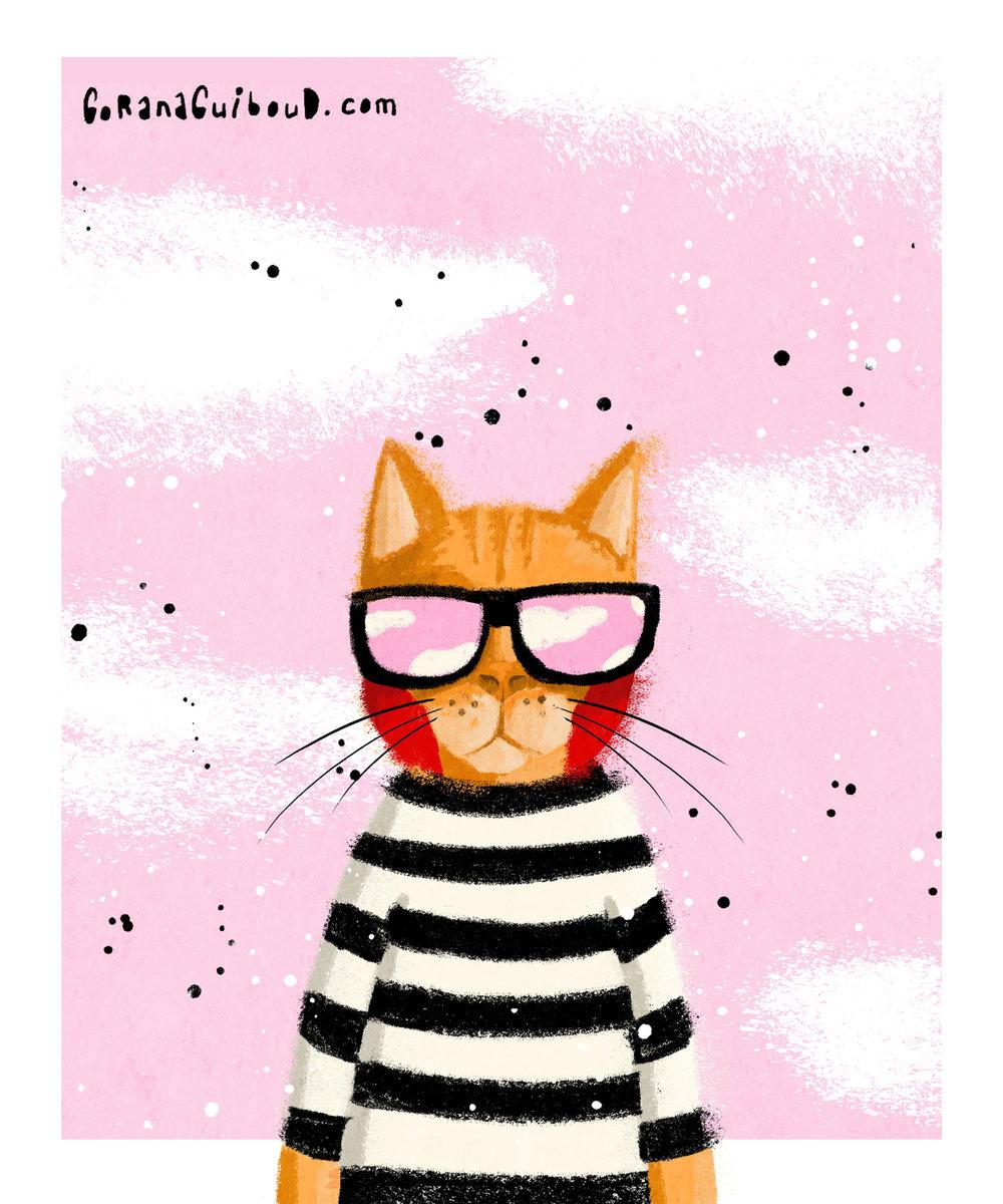 100 Katzen - Das Projekt ist im Zuge der Instagram Challenge The 100 Days Project entstanden.---100 Katzen in verschiedenen TechnikenAktuellen Stand 54 Katzen.Eine Auswahl davon präsentiere ich gerne hier!