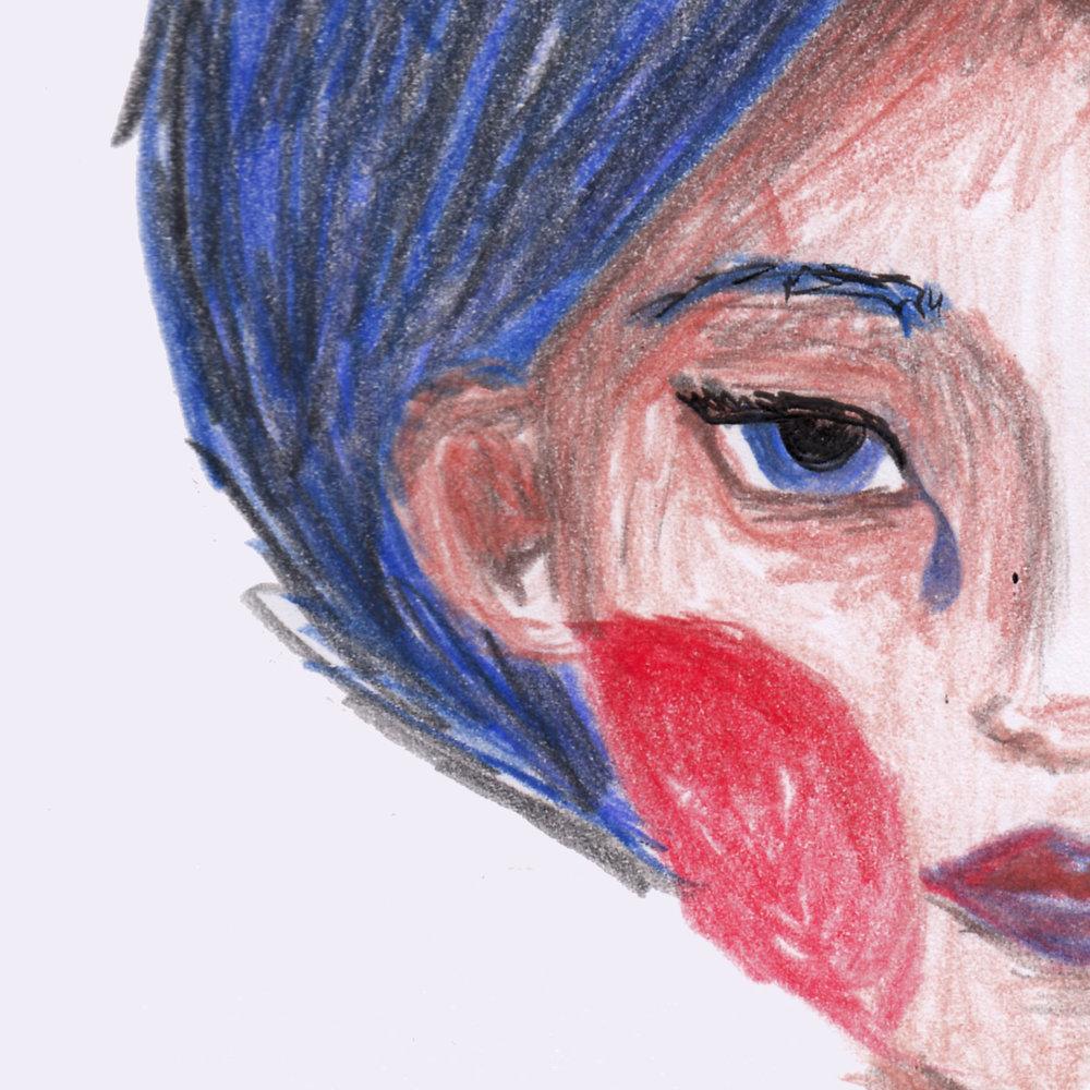 Waterlover Portrait - ---Buntstifte