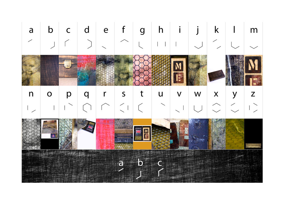 6-sided Alphabet & Self Portrait In A Box