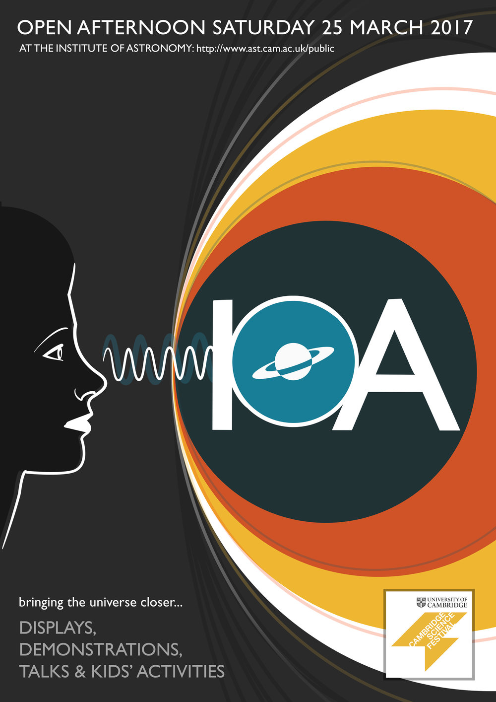 Education and outreach at the IoA