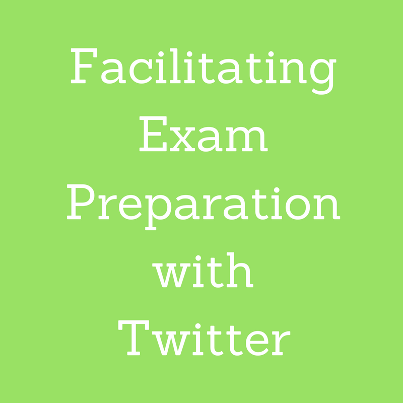 Facilitating Exam Preparation with Twitter