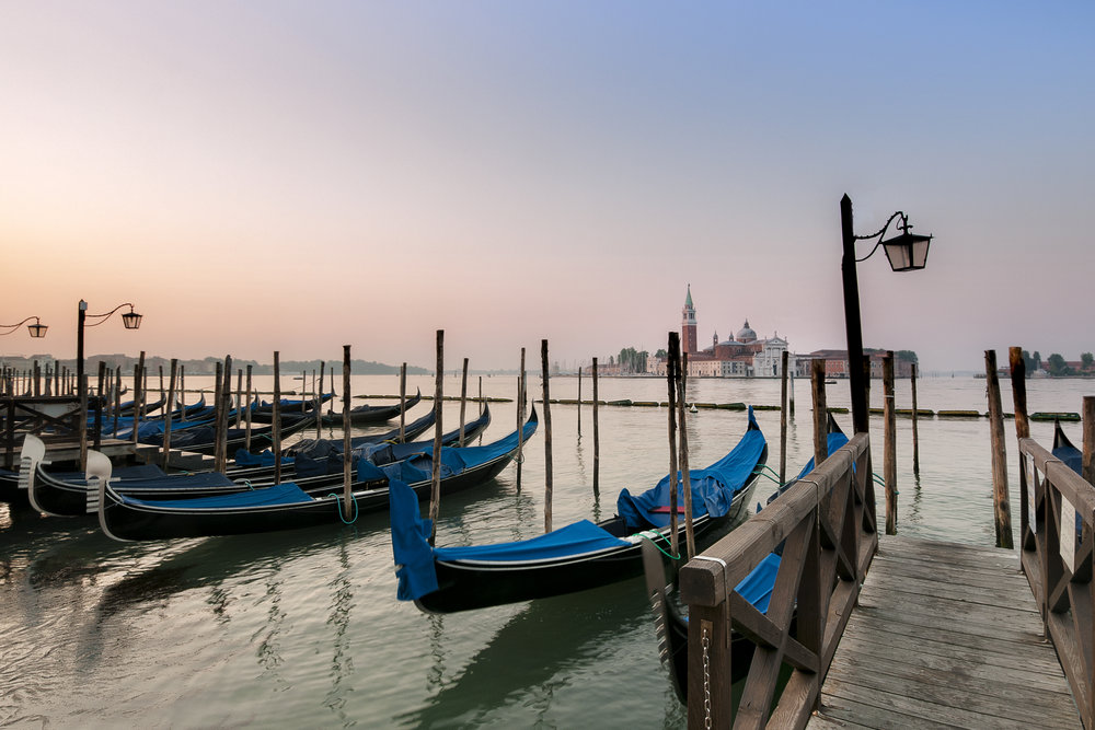 """In Venice, Tass's echoes are no more, And silent rows the songless gondolier; Her palaces are crumbling to the shore, And music meets not always now the ear."" Lord Byron"