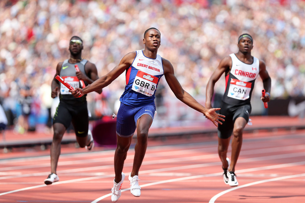 Ojie Edoburun - 100m & 200m sprinter who was part of the 4 x 100m Team GB relay squad at the Rio Olympics. In 2017 he is focused on the IAAF World Championships in London and ready to make his mark in the sprint world! We caught up with Ojie ahead of his ambassador month with us in June.