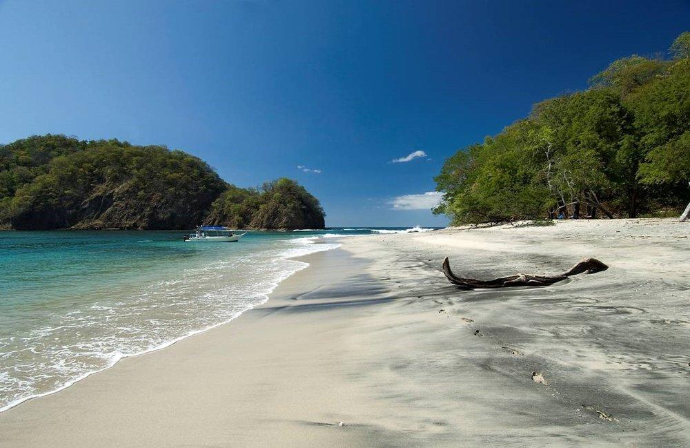 Unser Lieblingsplatz für ein Picknick am Strand -Papagayo Halbinsel