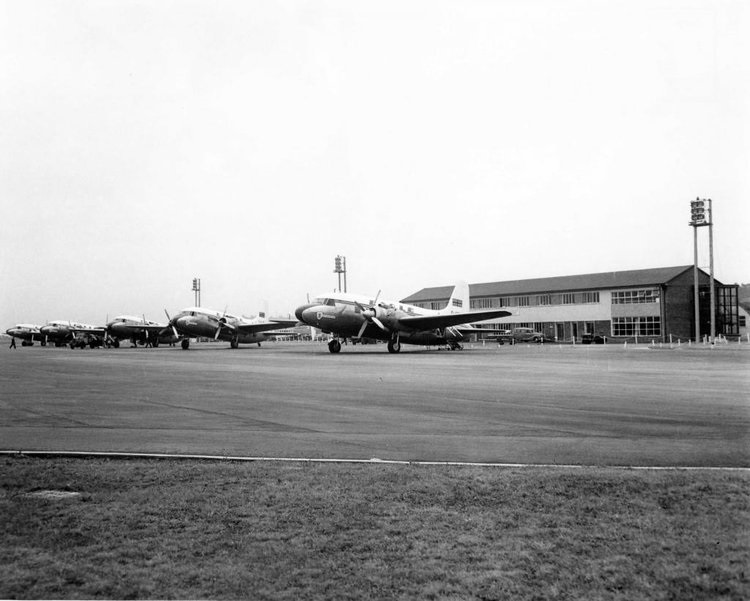 Blackbushe Past & Present