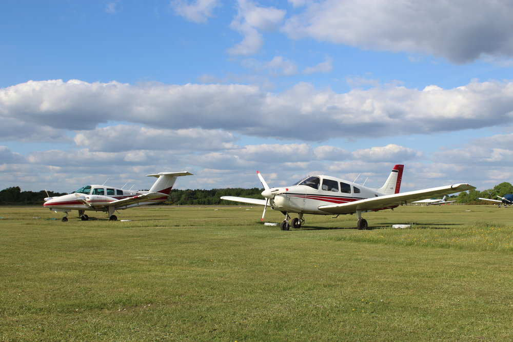 Welcome To   Blackbushe Airport   Open 07:00-18:00 local, 7 days a week  (18:00-22:00 by prior arrangement)  ALL FLIGHTS ARE STRICTLY PPR ONLY