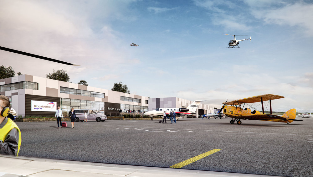 Blackbushe Airport are excited to share our vision for the development of the airport into a modern GA facility.