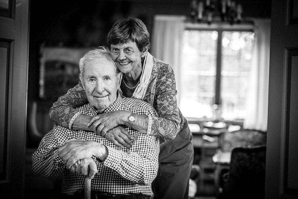 Simen og Aud Fougner