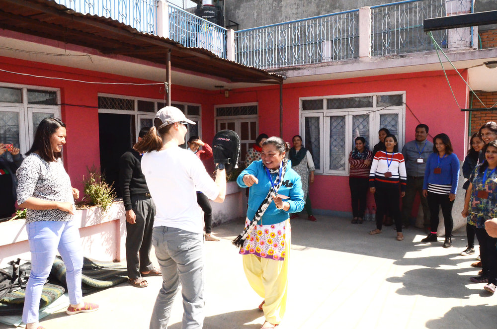 Teaching Self-Defense in Kathmandu, Nepal