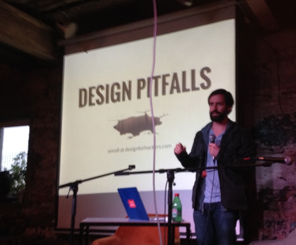 Mentor David Kadavy, author of Design For Hackers, shares some tips on common design pitfalls for web and mobile startups.