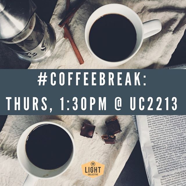 CoffeeBreak UC2213 Thursday 1:30pm