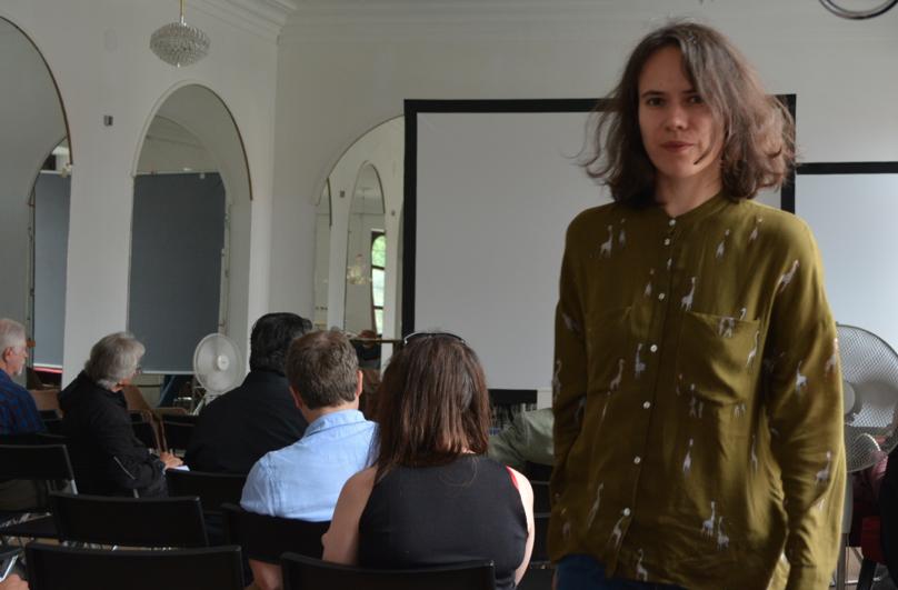 - Sviatlana Viarbitskaya, PhD in Physics is a GCAS Researcher and Artist
