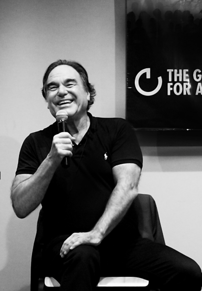 Oliver Stone This is a serious school worth supporting. Oliver taught at GCAS' seminar,