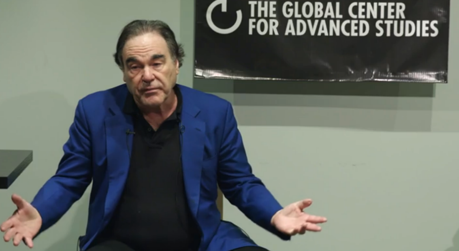 Oliver Stone offering some basic advice about how to create and distribute films in the digital age