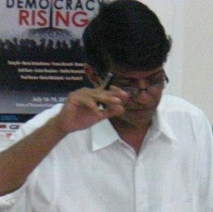 Azfar Hussain, PhD, GVSU, Vice-President of GCAS