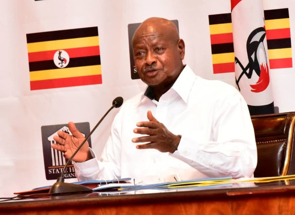 President Museveni accuses Civil Society Organizations (Photo by: Monitor Publications)