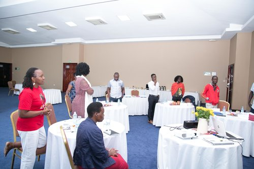 Civsource Africa and AJWS Training