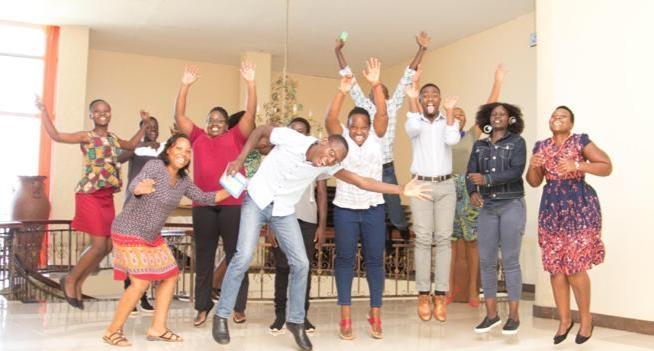 CivSource Africa Staff Celebrate