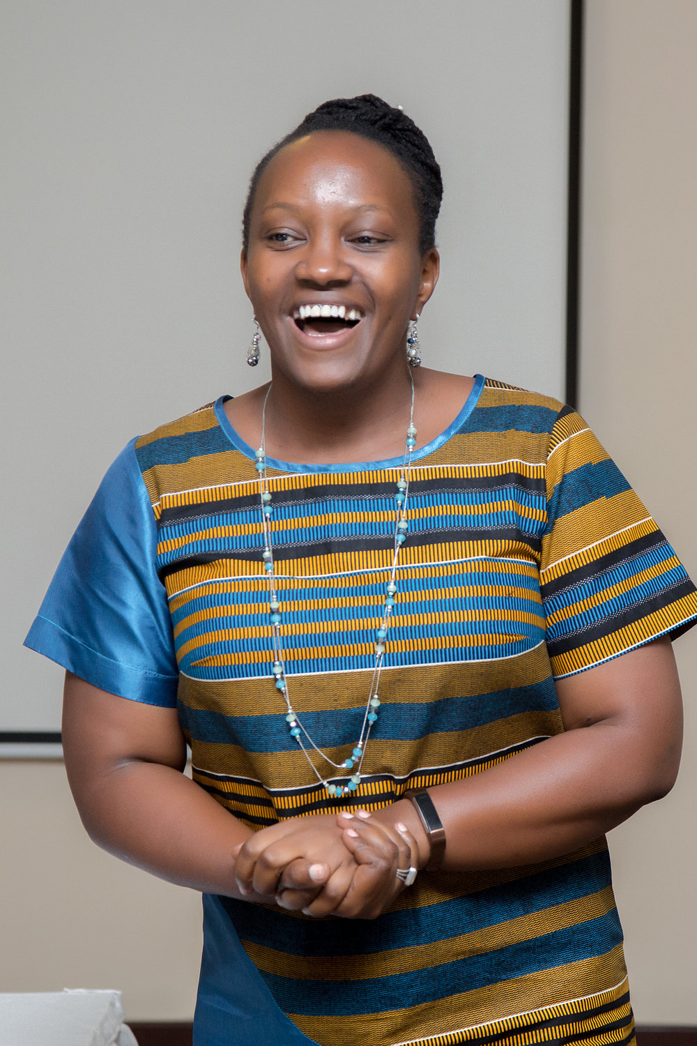Jacqueline Asiimwe, - Chief Executive OfficerJacqueline is a Ugandan and USA trained lawyer with a record of accomplishments in leadership, management, law and policy formulation, advocacy and training. She possesses extensive experience in policy research and analysis, lobby and advocacy on human rights, governance and democratization and women's rights, with excellent communication, coordination and networking skills. Her work experience spans from civil society, government and donor agencies. Prior to starting CivSource Africa, Jacqueline worked in various technical and high-level capacities including work at a Uganda European Union civil society capacity building program, an 18 million Euro five-year project that supported civil society through grants and capacity building. Earlier, she worked in various capacities with the Justice Law and Order Sector (JLOS) Secretariat in Uganda, Federation of Women Lawyers Uganda (FIDA-U), Uganda Women's Network (UWONET) and Action for Development (ACFODE).