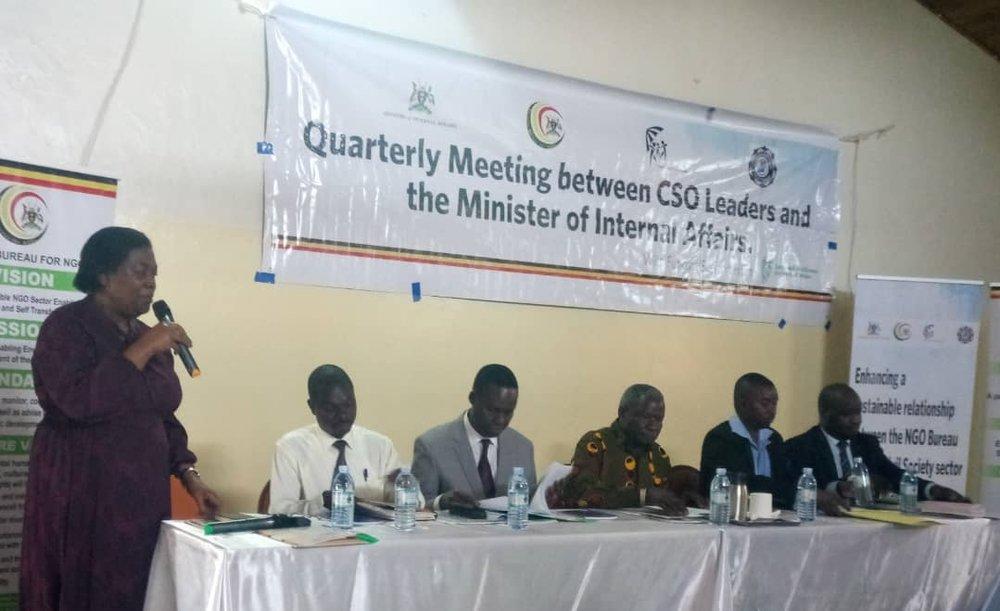 CSOs-Government meeting