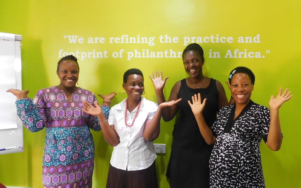 I celebrate the women of CivSource Africa