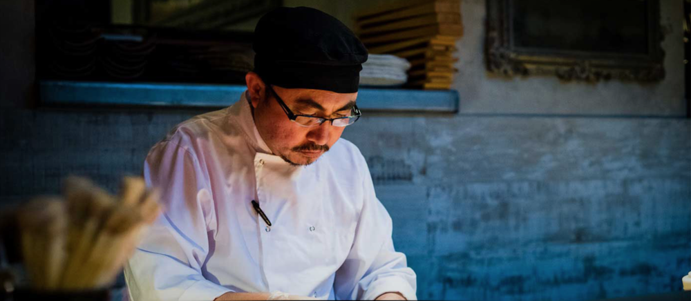 Rolando Ongcoy, Head Chef Koji, London will be using a Harrison Charcoal Oven for the new menu launching September 2018
