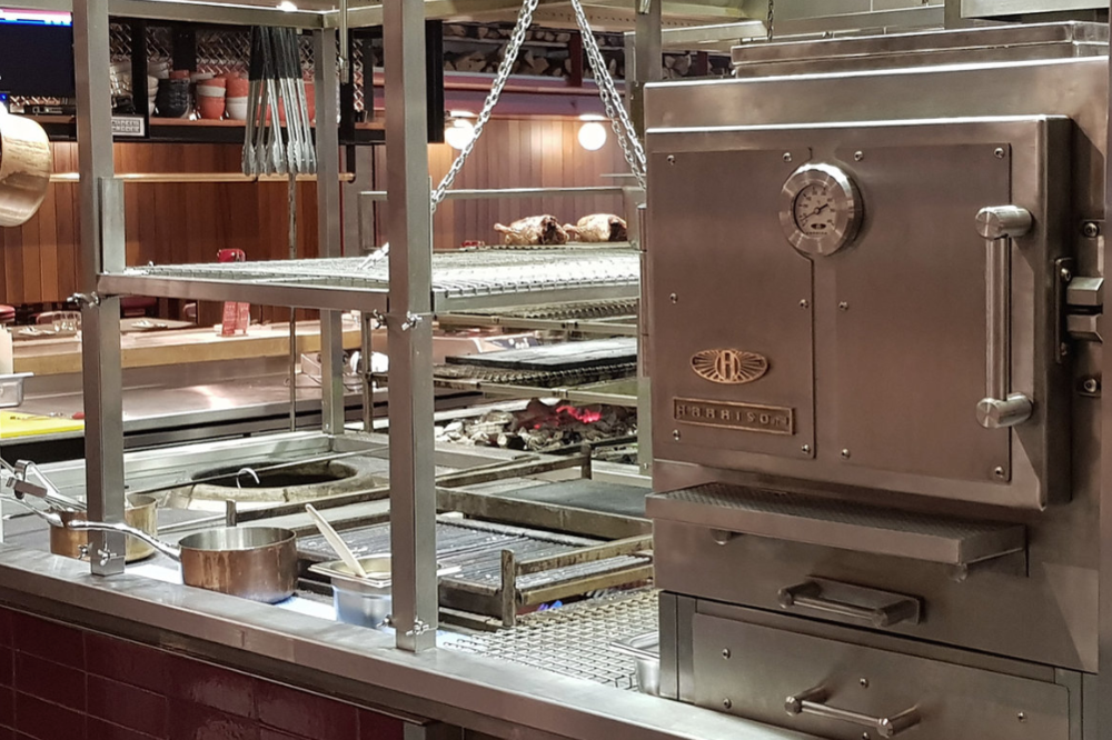 harrison charcoal ovens temper restaurants