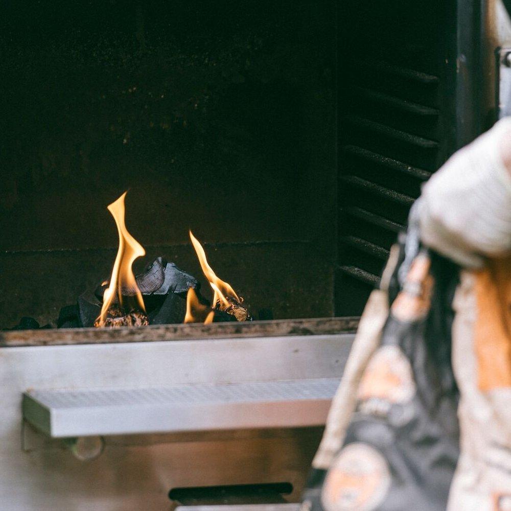 harrison charcoal oven