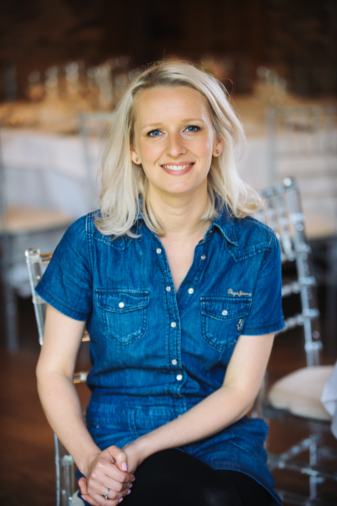 Jemma Gade, Founder & Creative Director of The Event Flower Company.