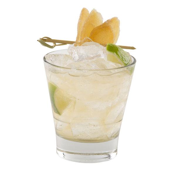 Hop Vodka Sour Hop Vodka. Lemonade.Slice of fresh ginger. Summertime rules!