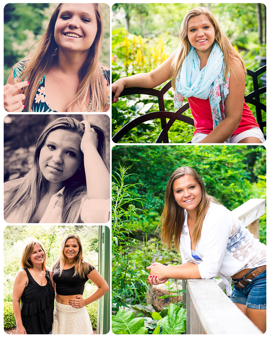 Mountain Range Senior Photos Ashley Z Misc Collage