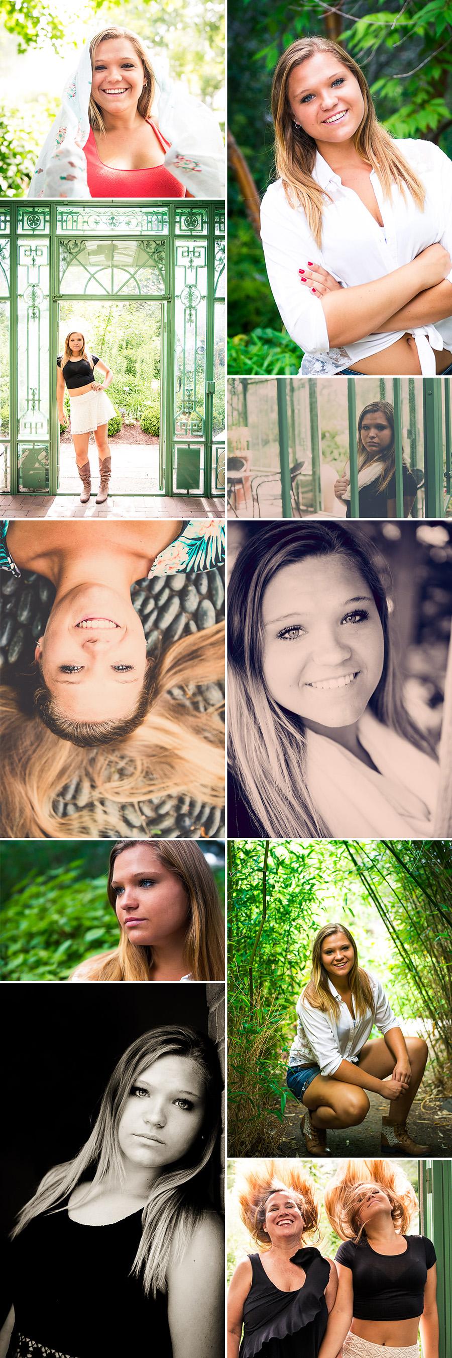 Mountain Range Senior Photos AshleyZ collage
