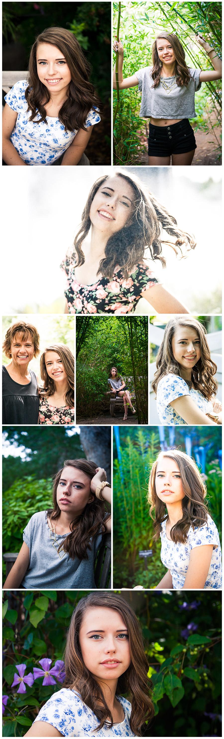 Senior photo session - Berkeley collage 1