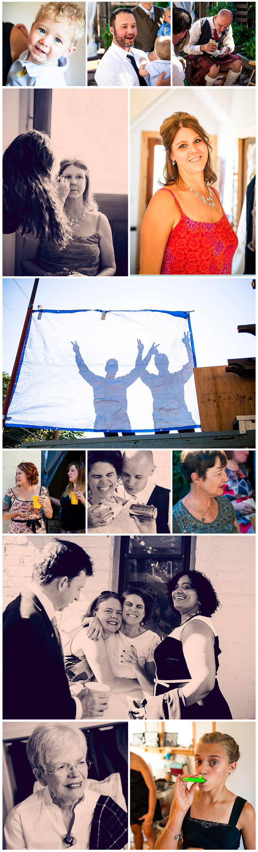 Kate and Ed's Wedding Collage 4